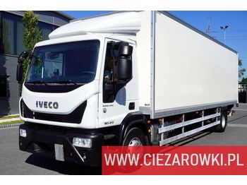 Изотермический грузовик IVECO Eurocargo 160E21 , E6 , 4x2 , 21 EPAL , box 8,5m , side door , l