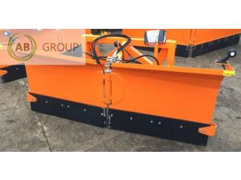 INTER-TECH Hydraulischer Pflug 2.2 m/Hydraulic snow plough /Гидравличес - отвал