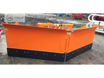 INTER-TECH Hydraulischer Pflug 3m/Hydraulic snow plough 3m/Гидравличес - отвал