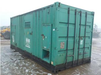 20' Containerised Generator, Cummins V16 Engine - электрогенератор