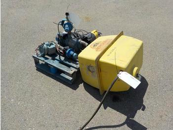 Pallet of Assorted Submerible Water Pump (1 of) Water Pump (2 of) Tank to suit Sprayer Machine (Spare) - насос для воды