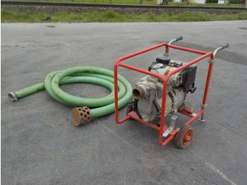 Petrol Engine Water Pump c/w Hose - насос для воды