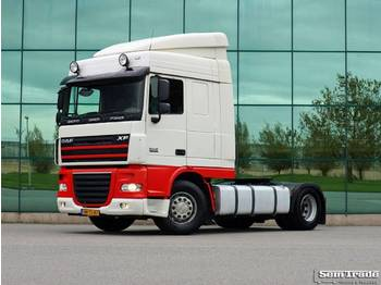 DAF XF 105 410 FT SC EURO 5 ANALOGUE TACHO 2 TANKS DUTCH TRUCK - тягач